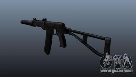 SR-3 Vikhr submachine gun v3 for GTA 4 second screenshot