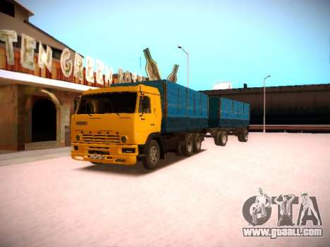 KAMAZ 5320 for GTA San Andreas right view