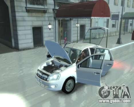 Lada Granta Hatch - VAZ 2191 for GTA 4 back left view
