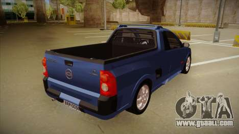 Chevrolet Montana Sport 2008 for GTA San Andreas right view