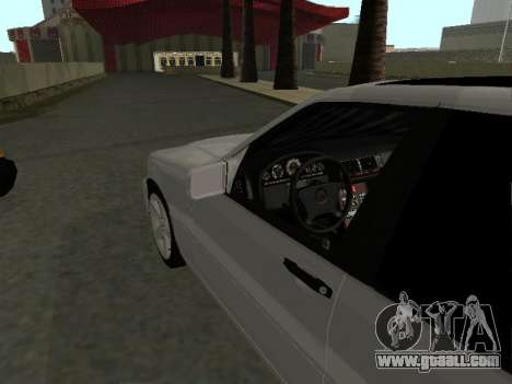 Mercedes-Benz W140 S600 for GTA San Andreas right view