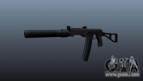 SR-3 Vikhr submachine gun v3 for GTA 4