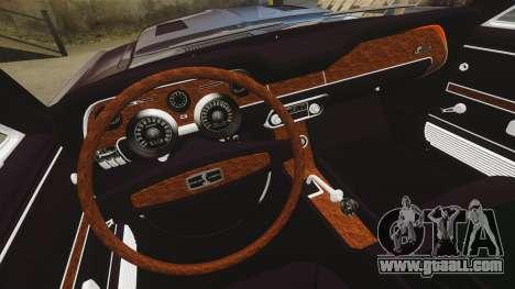Shelby GT500 for GTA 4 inner view