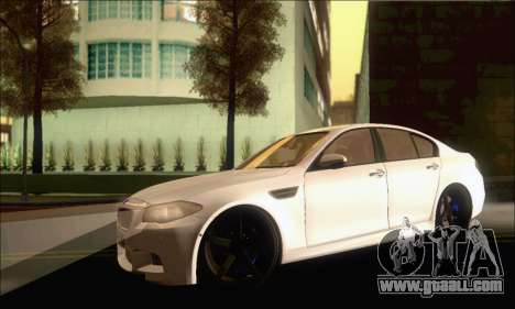 BMW M5 Vossen for GTA San Andreas left view