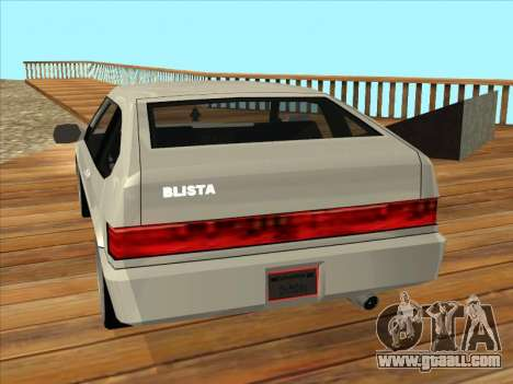 Blista Compact for GTA San Andreas left view