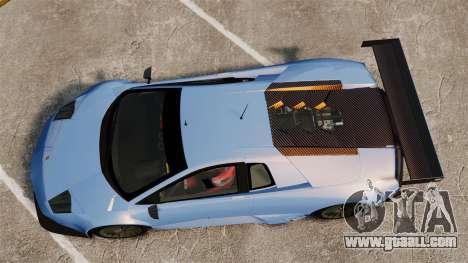 Lamborghini Murcielago RSV FIA GT1 v3.0 for GTA 4 right view