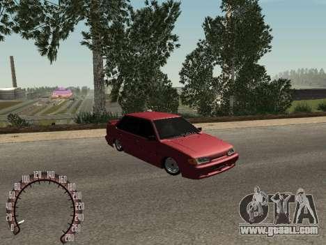 VAZ 2115 BPAN for GTA San Andreas left view