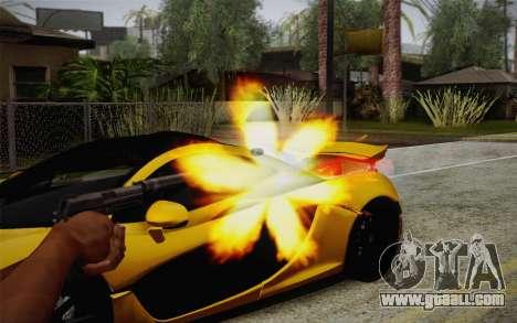 USP45 with silencer for GTA San Andreas third screenshot