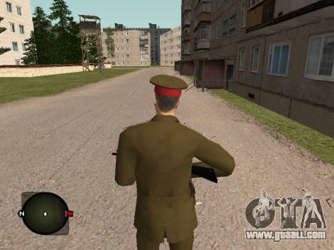Major General Of The Russian Army for GTA San Andreas third screenshot