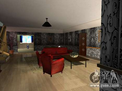 New interior 2-storeyed building CJ for GTA San Andreas second screenshot