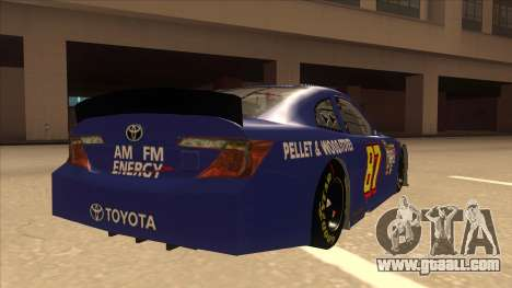 Toyota Camry NASCAR No. 87 AM FM Energy for GTA San Andreas right view