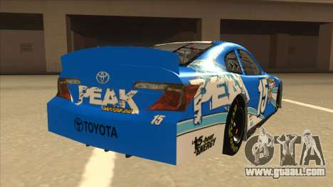 Toyota Camry NASCAR No. 15 Peak for GTA San Andreas right view