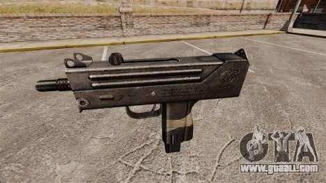 Submachine gun Ingram MAC-10 for GTA 4 third screenshot