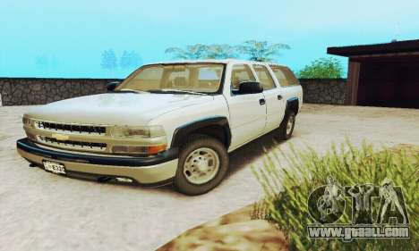 Chevrolet Suburban SAPD FBI for GTA San Andreas