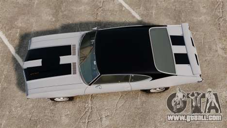 Oldsmobile Cutlass Hurst 442 1969 v2 for GTA 4 right view