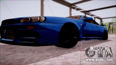 Nissan Skyline GT-R‎ R34 for GTA San Andreas side view