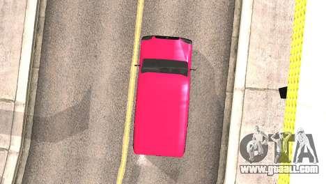 Fiat Doblo for GTA San Andreas inner view