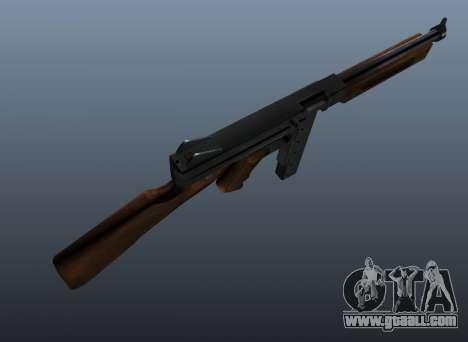 M1a1 Thompson submachine gun v2 for GTA 4 third screenshot