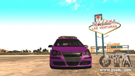 Volkswagen German Polo for GTA San Andreas back view