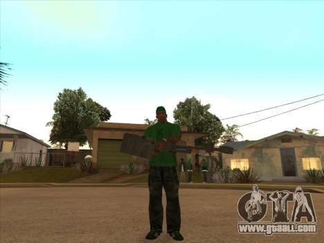 KORD for GTA San Andreas forth screenshot
