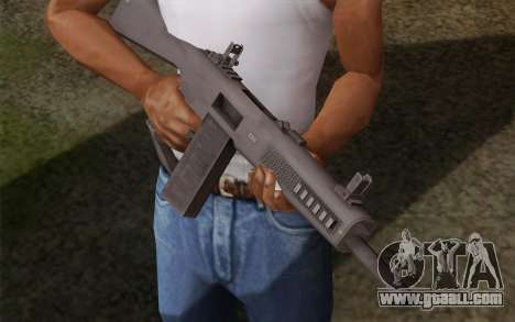 The AA-12 shotgun for GTA San Andreas second screenshot
