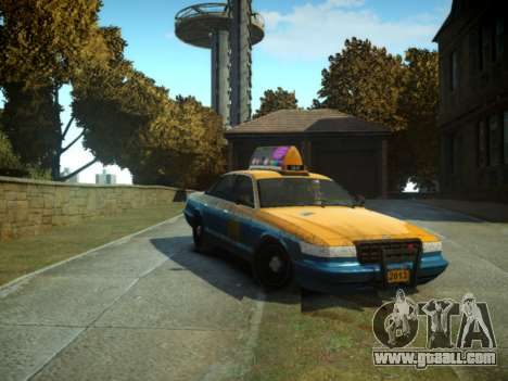 GTA V Taxi for GTA 4