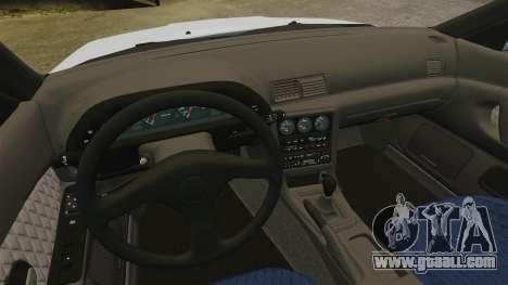Nissan Skyline GT-R (R32) for GTA 4 inner view