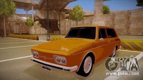VW Variant 1972 for GTA San Andreas