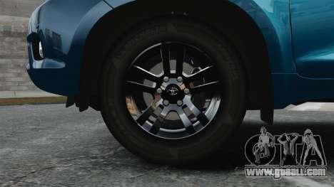 Toyota Land Cruiser Prado 150 for GTA 4 back view