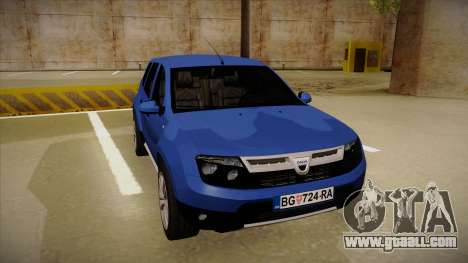 Dacia Duster SUV 4x4 for GTA San Andreas left view