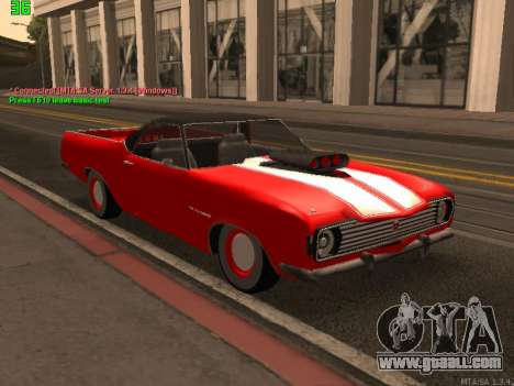 GAS El Camino SS for GTA San Andreas