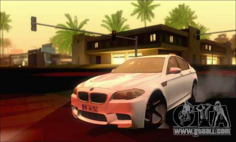 BMW M5 Vossen for GTA San Andreas
