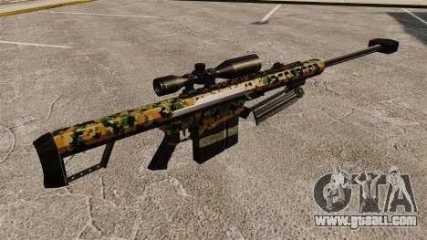 The Barrett M82 sniper rifle v13 for GTA 4 second screenshot