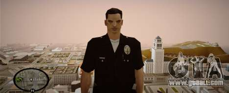 Los Angeles Police Officer for GTA San Andreas