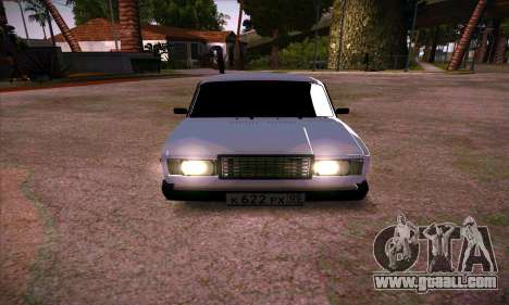 VAZ 2107 (05) for GTA San Andreas