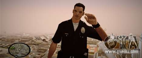 Los Angeles Police Officer for GTA San Andreas second screenshot