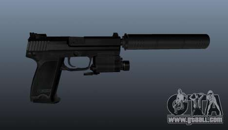 HK USP 45 pistol for GTA 4 third screenshot
