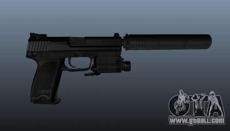 HK USP 45 pistol for GTA 4 third screenshot