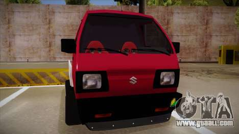 Suzuki Carry Drift Style for GTA San Andreas left view