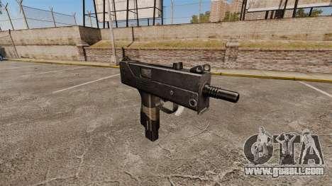 Submachine gun Ingram MAC-10 for GTA 4