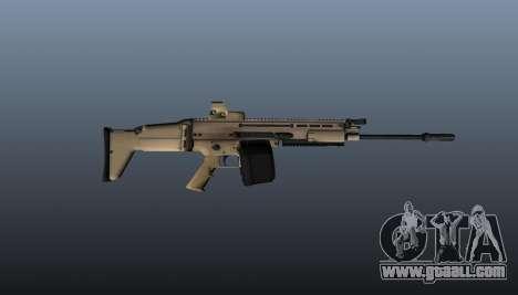 FN SCAR-H Machine Gun LMG for GTA 4 third screenshot