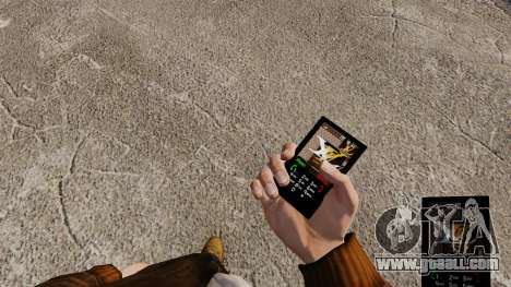 Themes for phone brands clothing for GTA 4 forth screenshot