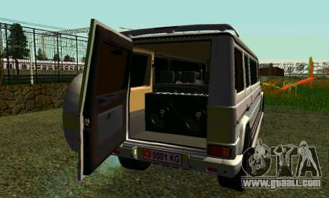 Mercedes-Benz G500 Limo for GTA San Andreas right view