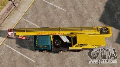 MAZ KS3577-4-1 Ivanovets for GTA 4 right view