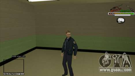 SAPD Pak skins for GTA San Andreas seventh screenshot