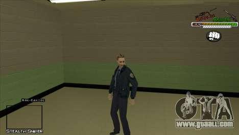 SAPD Pak skins for GTA San Andreas seventh screenshot