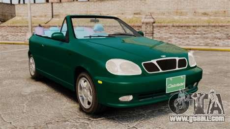 Daewoo Lanos 1997 Cabriolet Concept v2 for GTA 4