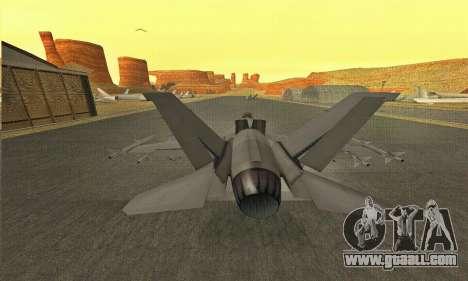 Hydra GTA V for GTA San Andreas right view