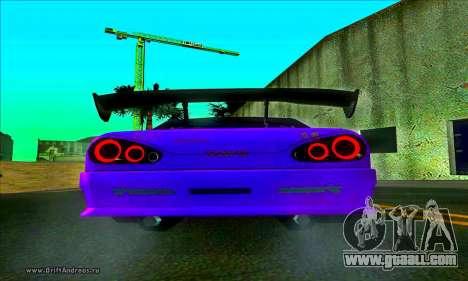 Elegy DC v2 for GTA San Andreas back left view