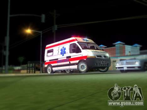 Renault Master Serbian AMBULANCE for GTA San Andreas